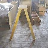 绝缘人字梯玻璃钢绝缘合梯安全绝缘梯子定做1-6米