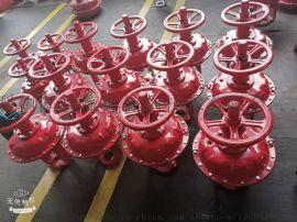 厂家供应气动薄膜头带顶装手轮ZHA/B气动执行器