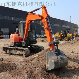 全新建筑工程挖沟挖土机 35农用小型挖掘机 捷克