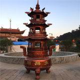 溫州昌東鑄鐵三層寶鼎廠家,鑄造五層寶鼎生產廠家