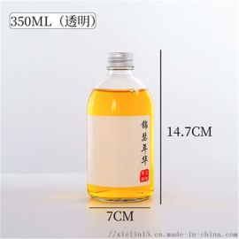 玻璃柚子汁饮料瓶生产厂家