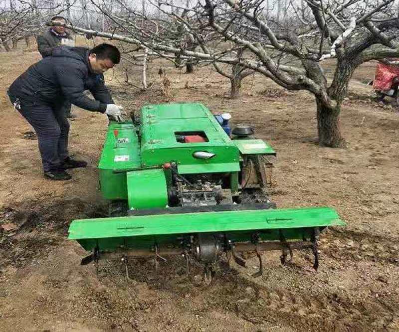 多功能田园机,履带式除草旋耕机