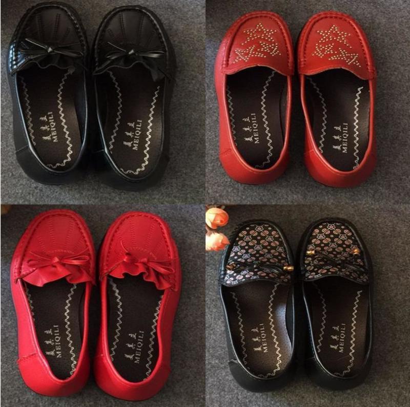 跑江湖地摊中老年女鞋妈妈软布鞋25元模式供应商