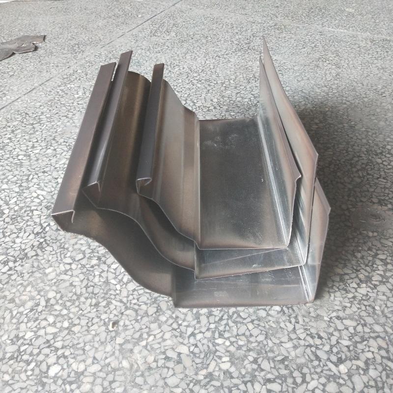 杭州彩铝天沟别墅落水管外墙排水现货现发