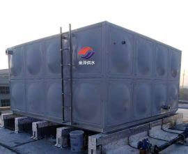 不锈钢保温水箱现场安装