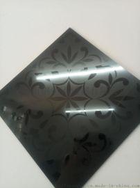 304不锈钢黑钛喷砂板厂家 不锈钢彩色喷砂板