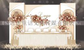 清远DK婚礼策划婚礼定制婚礼布置求婚布置婚庆