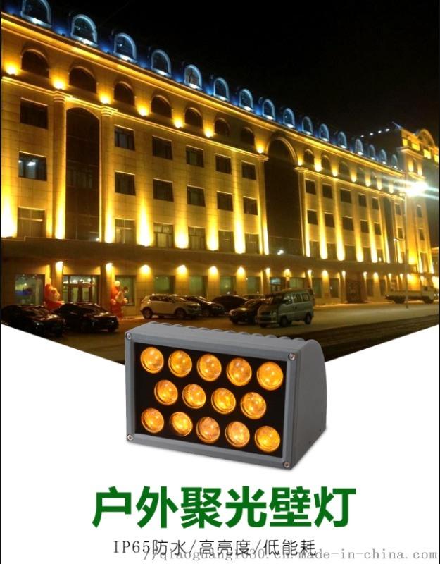 一束光聚光灯 led户外防水壁灯窄光洗墙灯