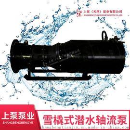 安徽防汛应急排水泵_雪橇式潜水轴流泵