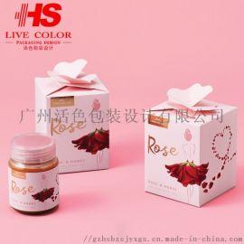 蜂蜜包装盒,食品包装盒,化妆品盒