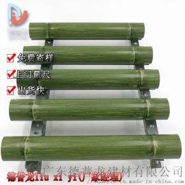 餐厅绿色圆形铝合金圆管 40圆形铝型材吊顶