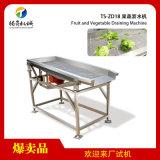 大型不锈钢蔬菜水果震动沥干机沥水机TS-ZD18