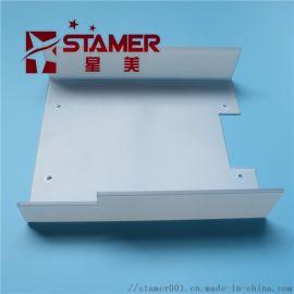 pc板折弯加工pc板机械罩壳防护罩雕刻折弯加工