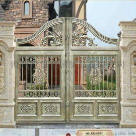那曲色尼区铝合金别墅大门铝合金护栏图服务介绍「多图」