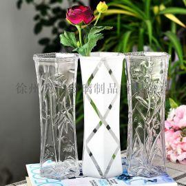 创意花瓶简约花瓶富贵竹花瓶玻璃花瓶干花瓶客厅花瓶