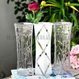 創意花瓶簡約花瓶富貴竹花瓶玻璃花瓶乾花瓶客廳花瓶