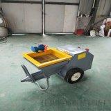 小型水泥喷浆机惊人的现代化自动抹墙机械