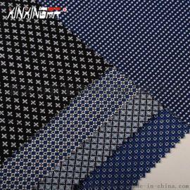 厂家直销 印染色织布 全棉阻燃色织面料270G手感软