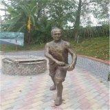 惠州景观人物雕塑 公园情景人物雕塑小品