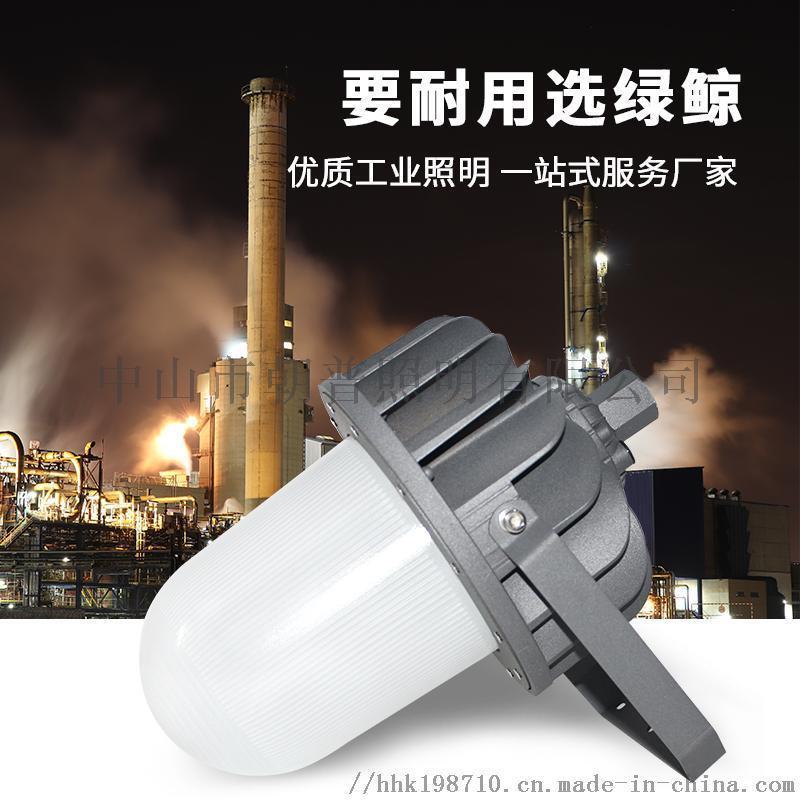 石油化工平臺防眩光防爆燈