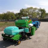 皇竹草青贮打包机,玉米秸秆打包机
