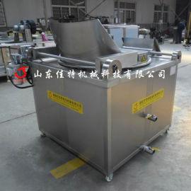 脂渣油炸时需要多高的温度,湖南脂渣油水混合油炸机