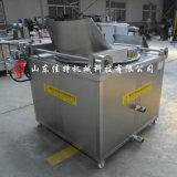 脂渣油炸時需要多高的溫度,湖南脂渣油水混合油炸機