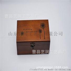 工厂定做桌面式收纳盒 首饰木制收纳盒