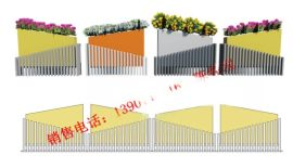 景区商城装饰用不锈钢栏杆 304隔离栏