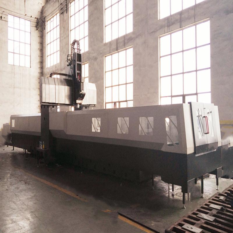 6米龙门铣床龙门加工中心门宽2.5米