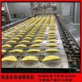 现货蛋饺机全自动蛋饺生产线 自动包制蛋饺机