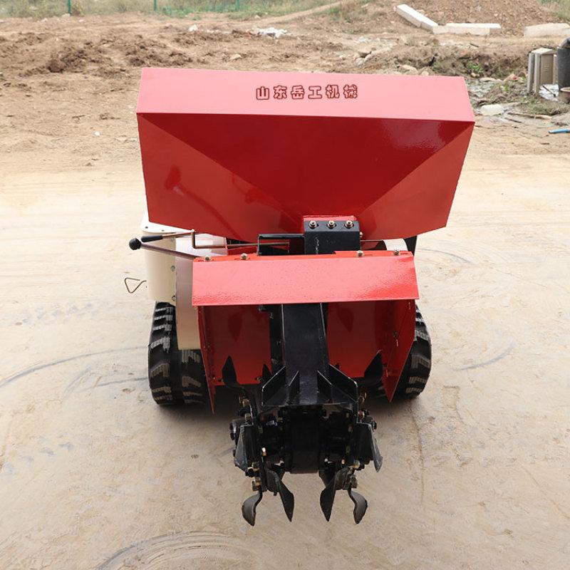多功能田园管理机 电启动柴油果园耕整机管理机