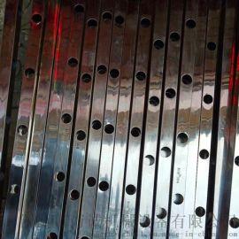 万诚不锈钢防盗网高速液压冲孔机电动手动液压冲孔模具