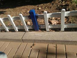 道路边草坪护栏厂家 花池锌钢管围栏喷塑