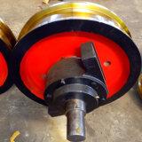 Ø600×150双边主动被动车轮组型号全锻造车轮组