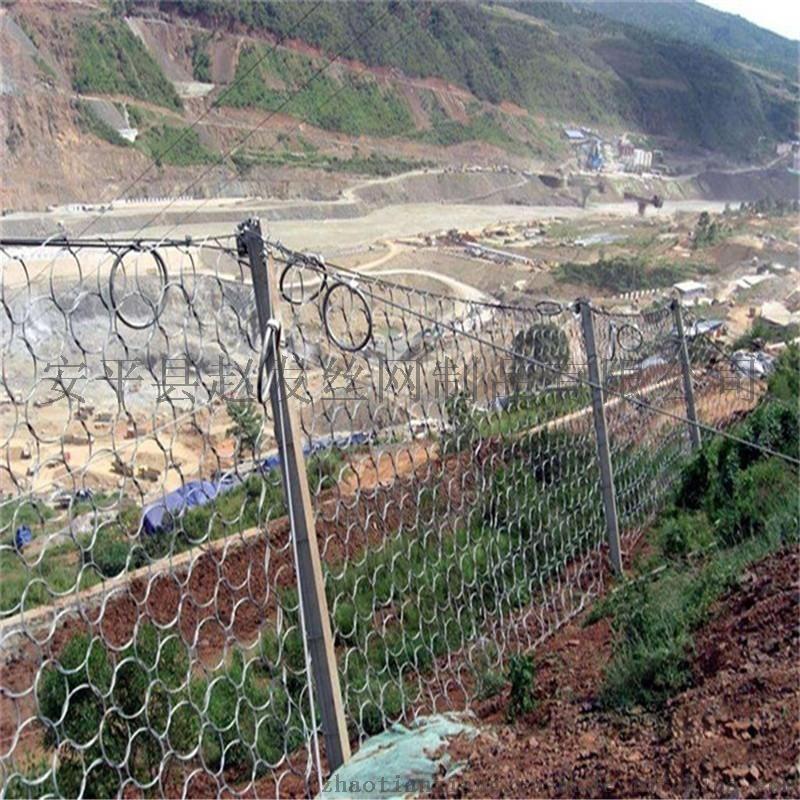 边坡落石临时防护.山体临时防护网.山体边坡防护网