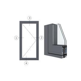 廣東興發鋁材創高AL6024A|B系列外平開門