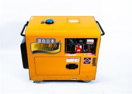 单相风冷8KW车载柴油发电机
