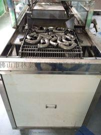 不锈钢弯管清洗机 钢管超声波清洗烘干线 林泰定制
