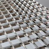 塑料銀色防眩光網格片,鍍鉻鍍鋁鍍膜教室燈格柵