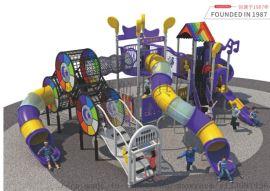 室外大型儿童滑梯幼儿园户外滑滑梯秋千组合广场小区游乐玩具设施