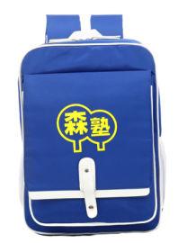 儿童背包 书包定制厂家可定制图案
