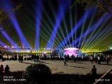 河南漯河景區亮化 射燈效果