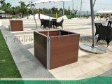 玻璃钢花盆--高架桥绿化--城市建设花箱