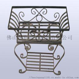 园艺创意不锈钢花箱 蚀刻异形盆组合花箱定制