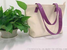 工厂生产时尚PU时尚斜挎包 内有里布 袋口放盗拉鏈