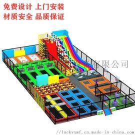 室内儿童蹦极床弹跳床大型游乐园成人健身蹦床公园