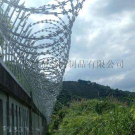 不锈钢防爬带刺钢丝网防盗围墙护栏网