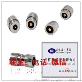 1pin磁吸连接器Pogo Pin手机蓝牙耳机五金配件公母直流充电数据线