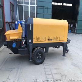 小型混凝土地泵车,混凝土输送地泵车厂家